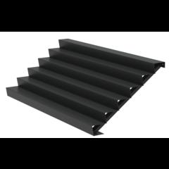 Aluminium trap 300cm.