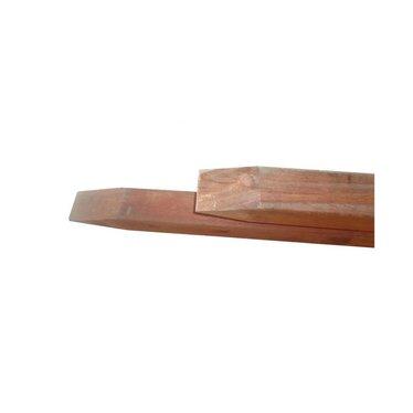 Mobilane hardhouten paal 5,9x5,9x275cm.