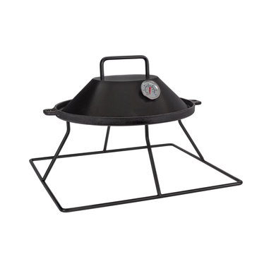 Easy Fires opzet BBQ vierkant