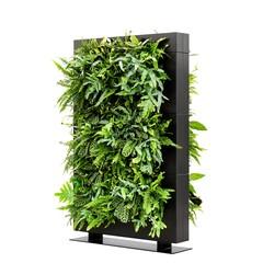 LiveDivider PLUS 3 zwart, de groene roomdivider