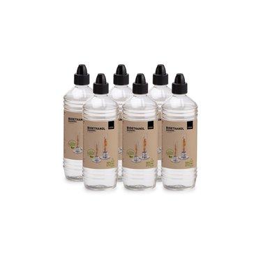 Spin Tafelvuur Bio-ethanol Brandstoffles 1 Liter Set van 6 Stuks