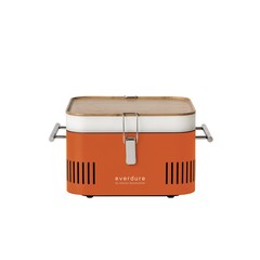 Everdure Cube oranje houtskoolbarbecue