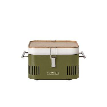 Everdure Cube groen houtskoolbarbecue