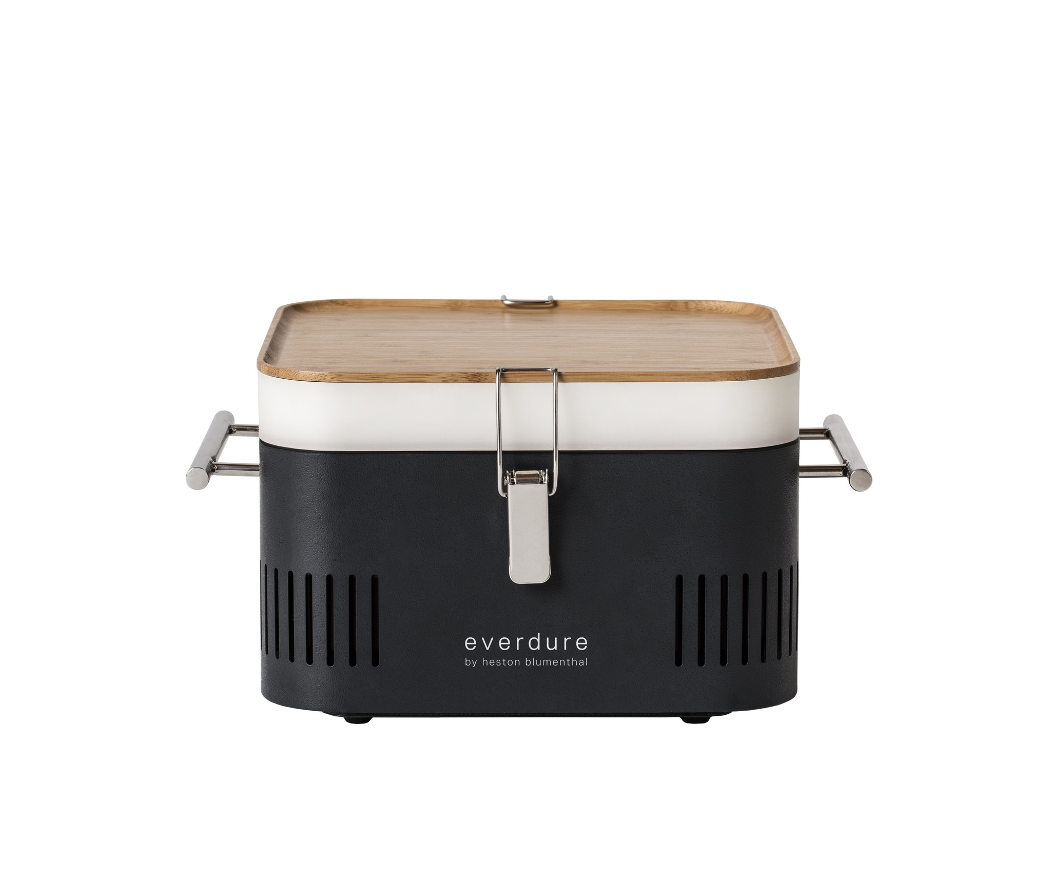 Everdure Cube zwart houtskoolbarbecue