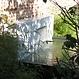 Vijvermuur aluminium vast 120x25x60cm.