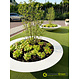 Polyester plantenbak Ceder 200x40cm.