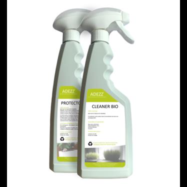 Bio cleaner en protector set