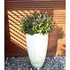 Polyester plantenbak Canna hoogglans 50x59cm.