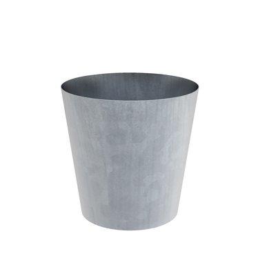 Vaza verzinkt stalen plantenbak 80x80cm.