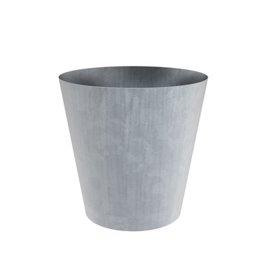 Vaza verzinkt stalen plantenbak 100x100cm.
