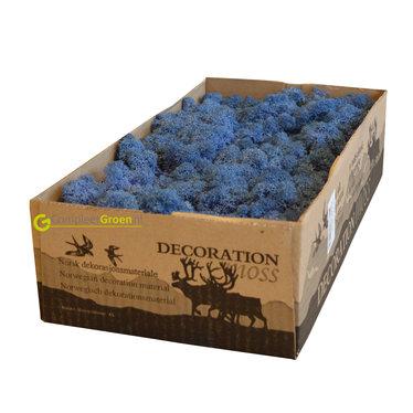 Rendiermos konings blauw 500 gram