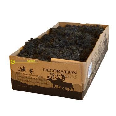 Rendiermos zwart 2650 gram