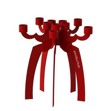 Productlab Kandelaar Sindri High rood