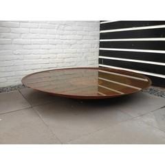 Waterschaal Cortenstaal 120 cm.