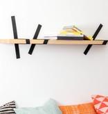 STRAFF Design Straps wandplank