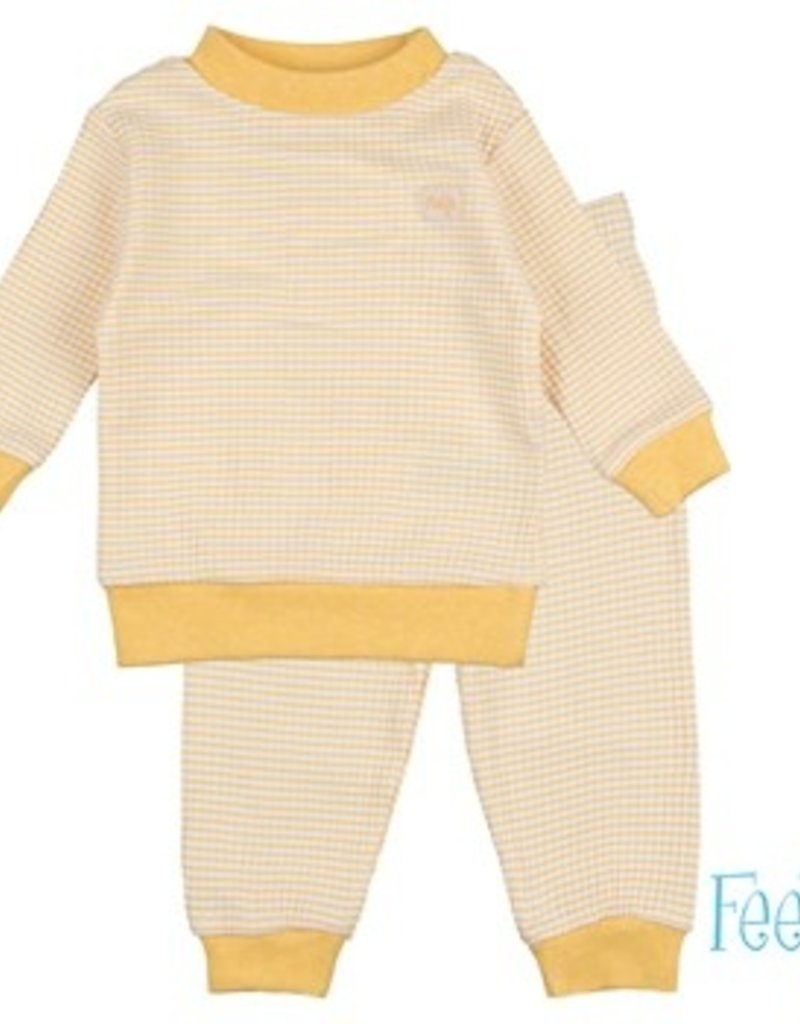 Feetje Feetje pijama 305.532 Yellow Ocre