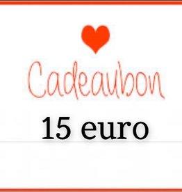 Kiekiek Friends Cadeaubon 15 euro