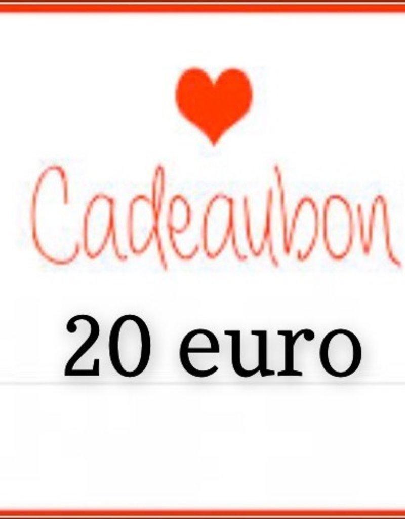 Kiekiek Friends Cadeaubon 20 euro