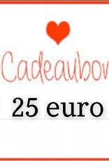 Kiekiek Friends Cadeaubon 25 euro