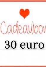 Kiekiek Friends Cadeaubon 30 euro