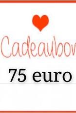 Kiekiek Friends Cadeaubon 75 euro