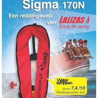 Lalizas Sigma 170N automatisch reddingsvest zwart
