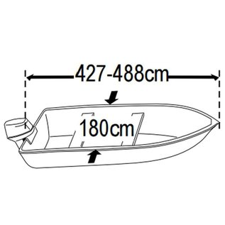 Lalizas SeaCover afdekzeil boot