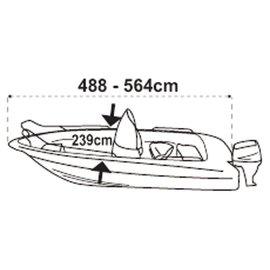 Lalizas SeaCover afdekzeil boot 488 tot 564 cm / 239 cm
