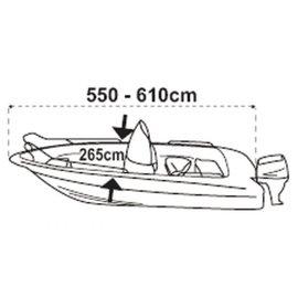 Lalizas SeaCover afdekzeil boot 550 tot 610 cm / 265 cm