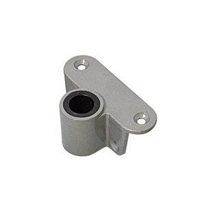 Roeidolhouder zijmontage aluminium