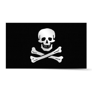 Piratenvlag 30x45 cm