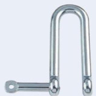RVS D-sluiting onverliesbare pin lang