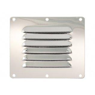 Ventilatierooster RVS - 127 x 115 mm