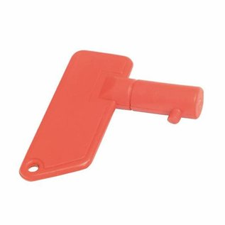 Reserve sleutel voor accu hoofdschakelaar