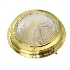 Messing opbouw kajuitlamp plafonnieres
