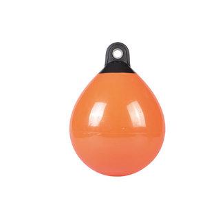 Talamex Ronde stootwil Oranje met zwarte kop