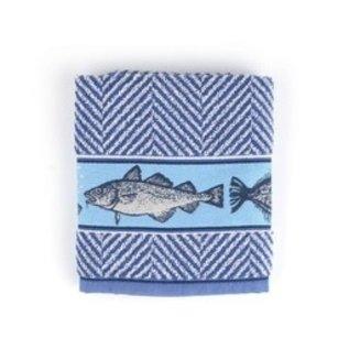 Handdoek Fish Koningsblauw