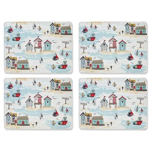 Beside the seaside placemats (Per 4 st.)