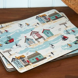 Cooksmart Beside the seaside placemats (Per 4 st.)