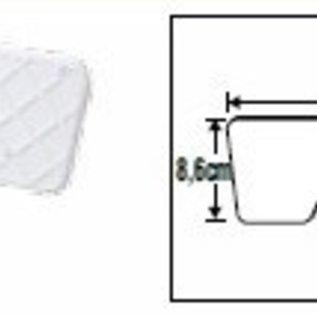 Lalizas Spiegelbeschermer buitenboordmotor 23 x 8,6cm