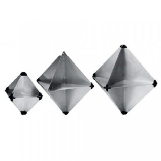 Lalizas Radarreflector achtvlakkig