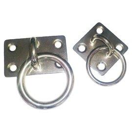 Talamex RVS aanlegringen met ring