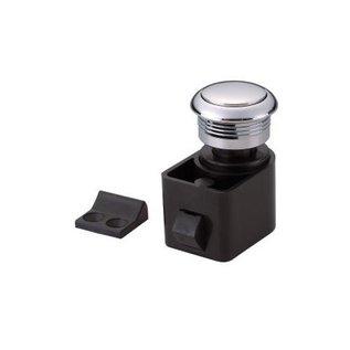 Drukknop sluiting inclusief knop, ring en slotplaat