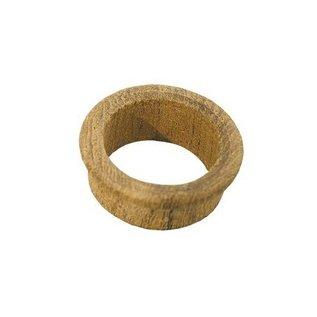 Teakhouten ring voor cabinet deurtjes