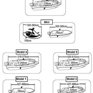 Lalizas SeaCover afdekzeil boot 427 tot 488 cm / 229 cm