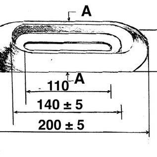 Talamex Magnesium anode opschroefbaar