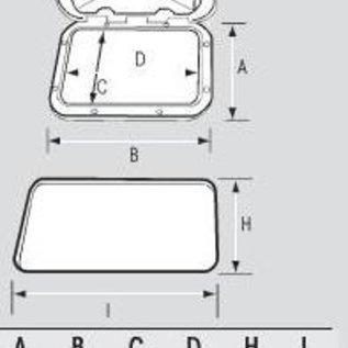Nuova Rade Classic inspectieluik 463x517 mm