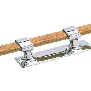 Talamex Messing verchroomde bolder met houten stok