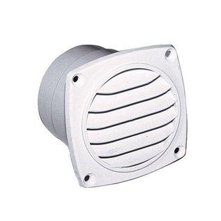 Ventilatierooster met slangaansluiting