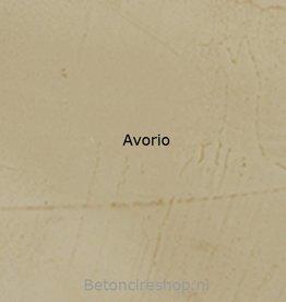 Beton floor kleur 8 Avorio